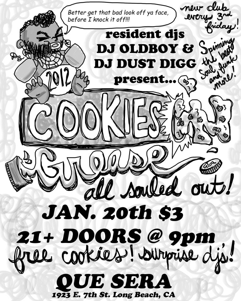 Cookies 'N Grease: All Souled Out!